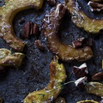 How Do I Cook This? Roasted Delicata Squash with Pecans and Thyme