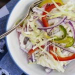 Spicy Jalapeno and Lime Coleslaw