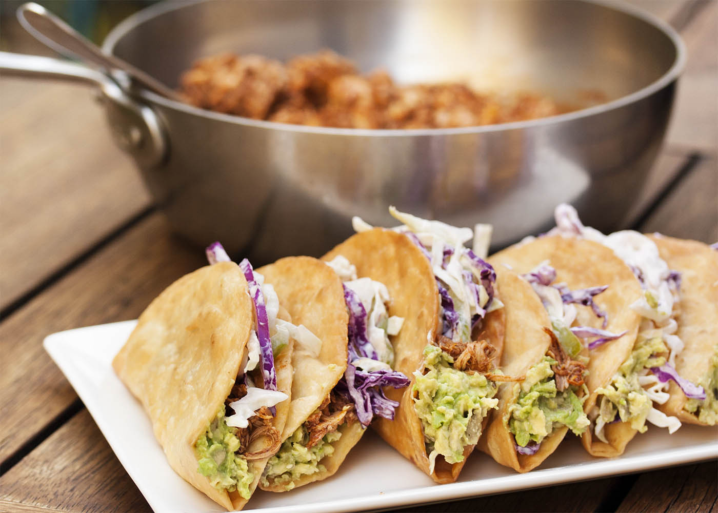 Beer braised pulled chicken tacos just a little bit of bacon beer braised pulled chicken tacos these tacos feature slow cooked chicken braised in beer and forumfinder Choice Image