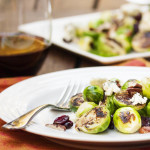 Blue Cheese & Brussels Sprout Salad