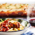 Chicken Parmesan Casserole - With its layers of breaded and fried chicken breast and all that gooey cheese, this is Italian comfort food at its finest. | justalittlebitofbacon.com