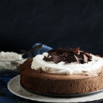 Dark Chocolate Mousse Pie