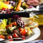 Leftover Roast Beef Salad with Shallot Vinaigrette