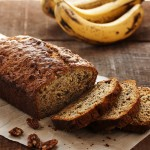 Classic Banana Bread with Bourbon and Pecans