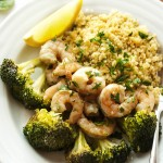 Oven Roasted Shrimp and Broccoli
