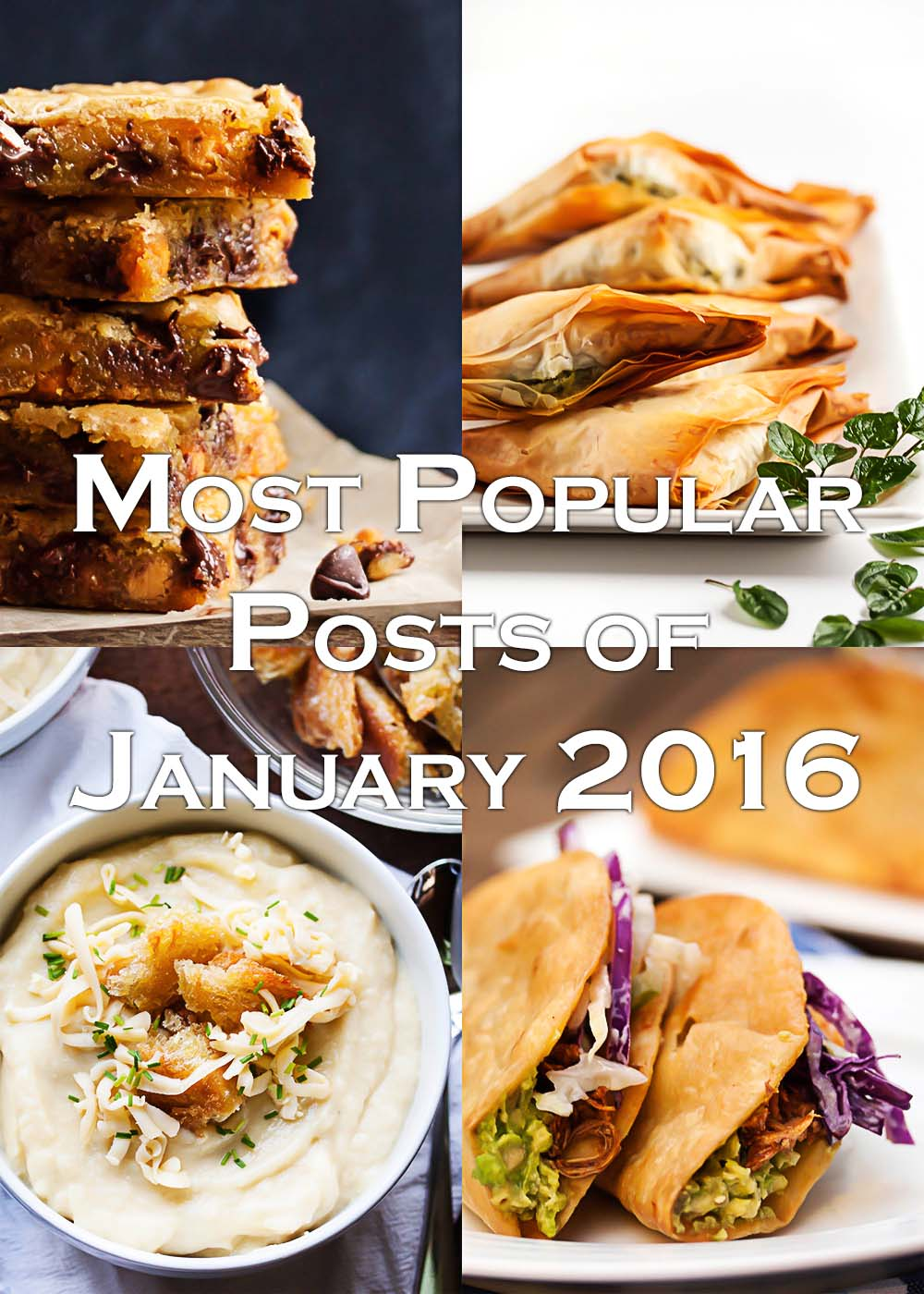 State of the Blog - Most Popular Blog Posts of January 2016 | justalittlebitofbacon.com