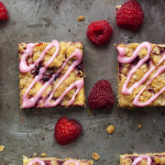 Raspberry Orange Streusel Bars
