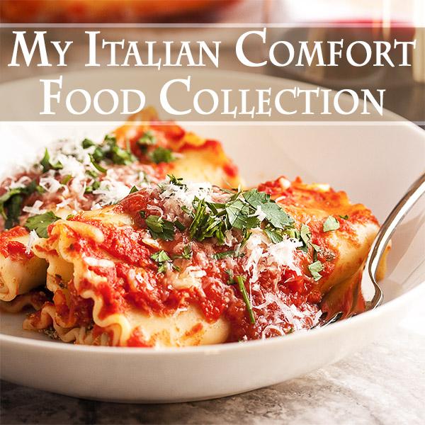 Italian comfort food collection.