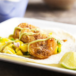 Easy Sauteed Shrimp and Mango Tacos