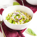 Fresh Corn and Fava Bean Salad