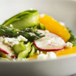 Shaved Asparagus and Orange Salad