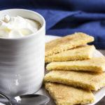 Tender Lemon Shortbread Cookies