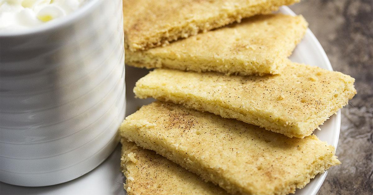 Lemony Shortbread Cookies - Just a Little Bit of Bacon