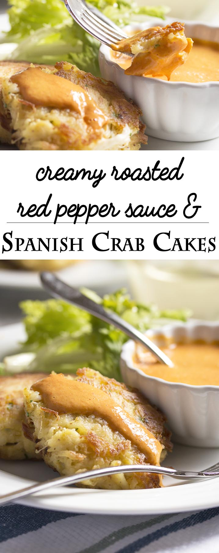 Red Pepper Cream Sauce For Crab Cakes