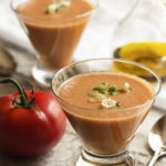 Smooth Tomato and Cucumber Gazpacho