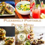 Pleasingly Portable Picnic Menu