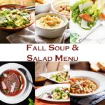 Fall Soup and Salad Menu