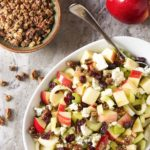 Pecan, Blue Cheese and Apple Salad