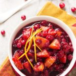 Cranberry Sauce with Port and Oranges