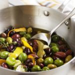 Italian Marinated Olives with Citrus and Herbs