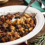 Apricot Bread Stuffing for Roast Pork