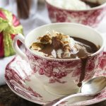 Cinnamon Infused Thick Italian Hot Chocolate (Cioccolata Calda)