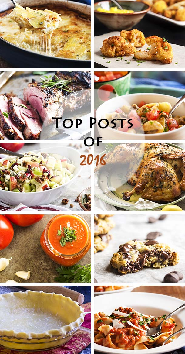 Just a Little Bit of Bacon's most popular recipes of 2016! 10 of the best of the year. You don't want to miss these! | justalittlebitofbacon.com