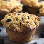 Meyer Lemon and Blueberry Ricotta Muffins