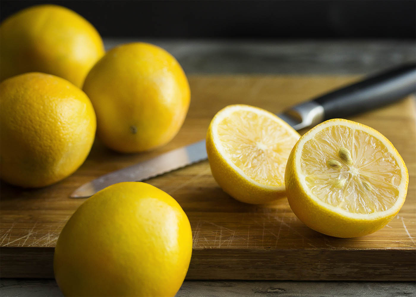 What are Meyer lemons? How do Meyer lemons taste? Origin, flavor, recipes and more answered in this meyer lemon ingredient spotlight. | justalittlebitofbacon.com