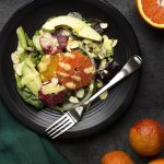 Winter Citrus Salad with Mixed Greens