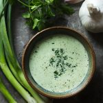 Spicy Green Goddess Buttermilk Dressing