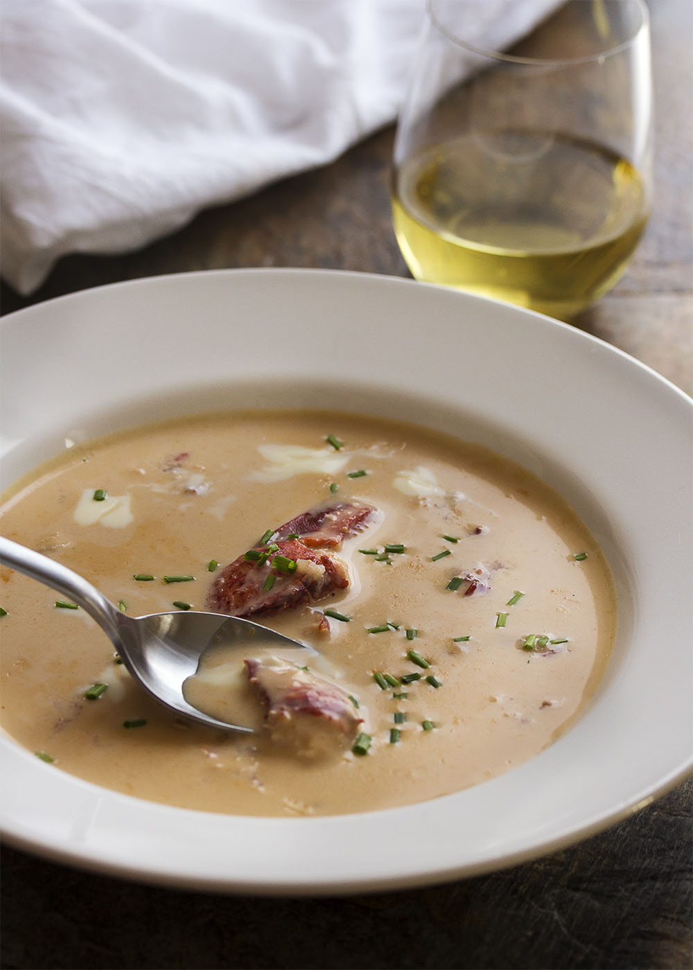 After years of tinkering I've developed a quick lobster bisque that is as fabulous and full of flavor as it is simple and easy to make. | justalittlebitofbacon.com
