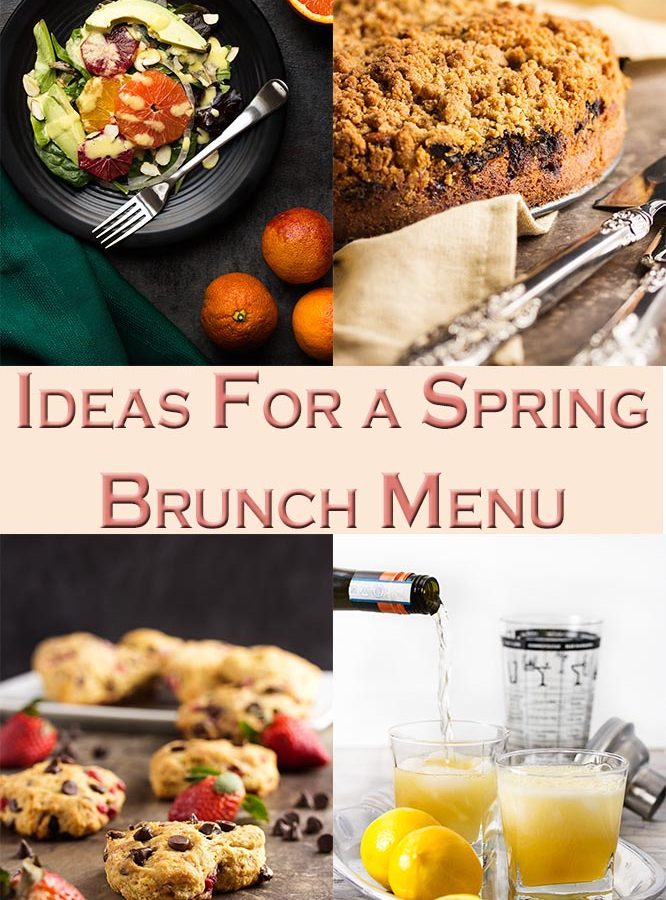 Need some ideas for a great, make-ahead brunch? You'll have a little something for everyone with this spring brunch menu and have it all done the day before! | justalittlebitofbacon.com