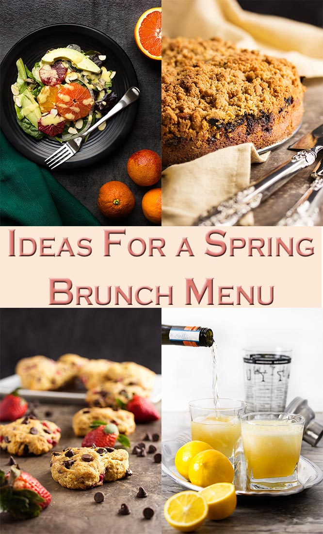 Ideas For A Spring Brunch Menu