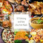 10 Enticing and Easy One Pot Meals