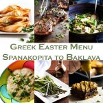 Greek Easter Menu from Spanakopita to Baklava