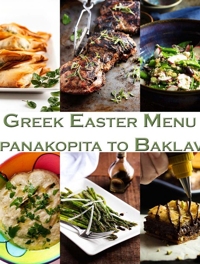 Greek Easter Menu from Spanakopita to Baklava