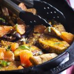 Mediterranean Chicken with Olives and Oranges