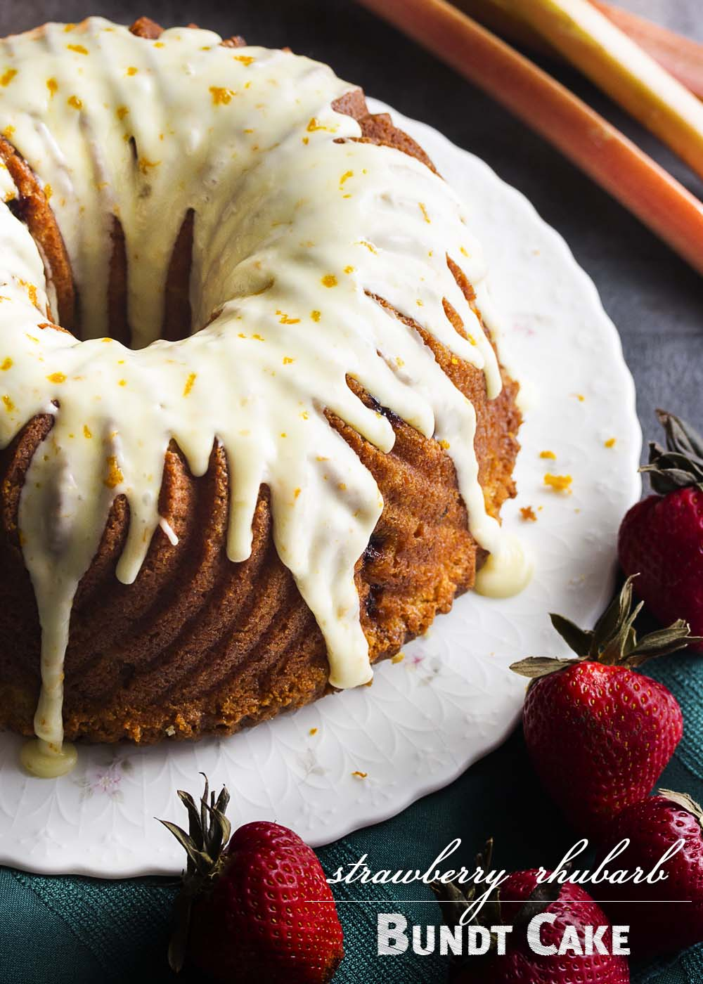 Rhubarb Bundt Coffee Cake Recipes