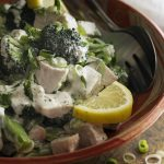Chicken and Broccoli Salad with Creamy Dressing