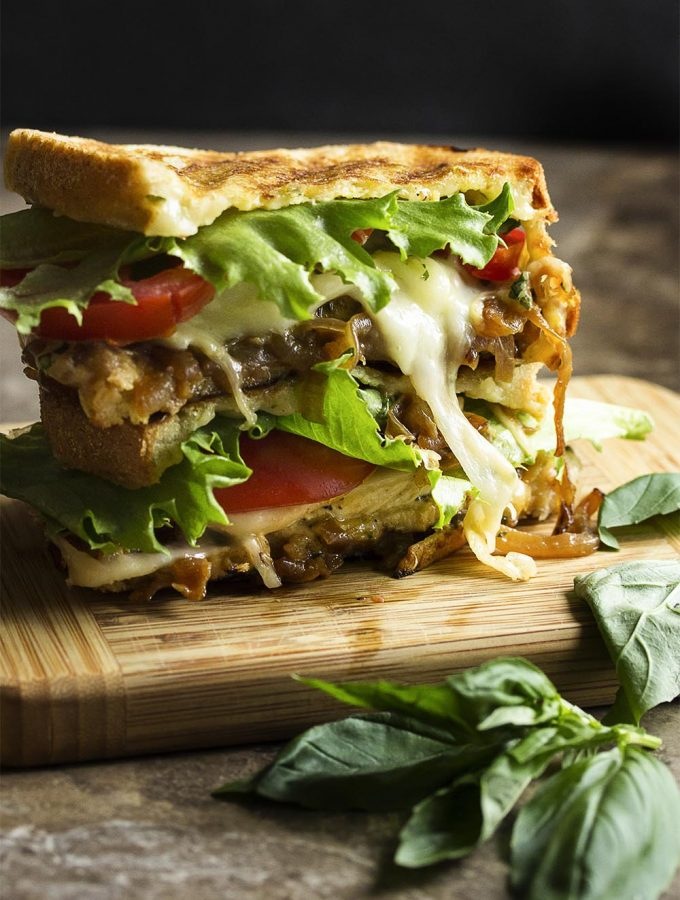 Italian Chicken Pesto Panini
