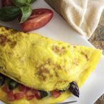 Smoked Gouda and Asparagus Omelette