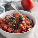 Italian Salsa with Tomatoes, Capers, and Olives