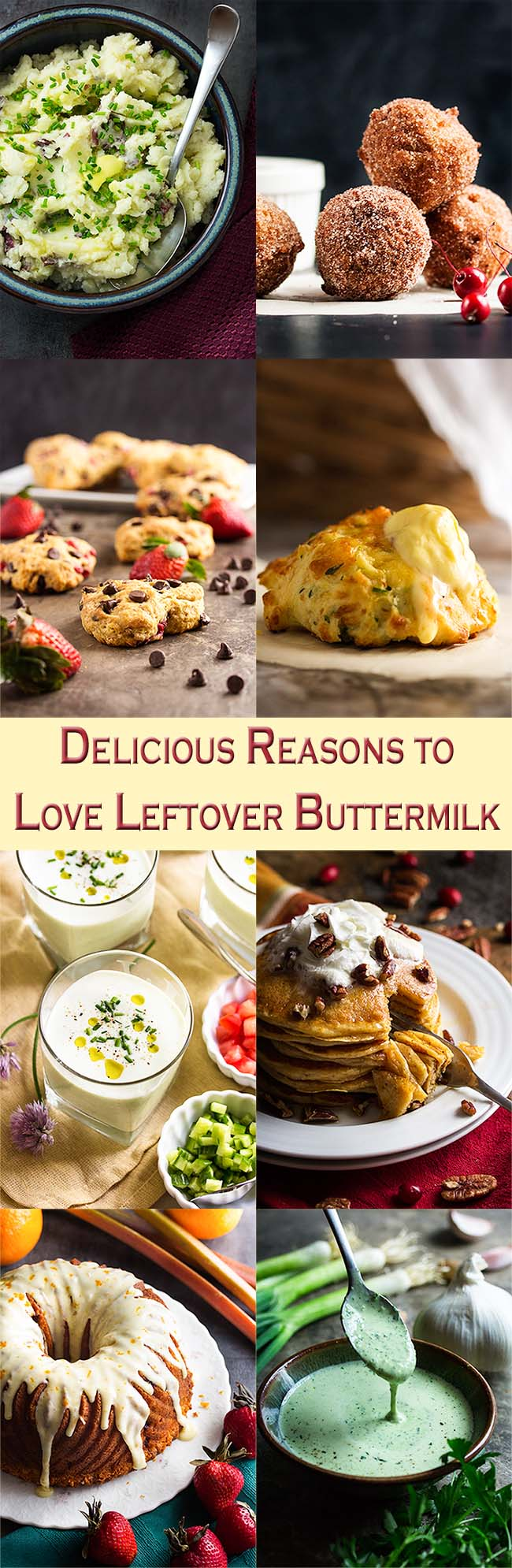 Have some leftover buttermilk sitting in your fridge? Don't know what to do with it? I have a pile of yummy recipes which will have you finishing off that buttermilk in no time! | justalittlebitofbacon.com