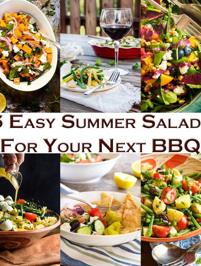 6 Easy Summer Salads for Your Next BBQ