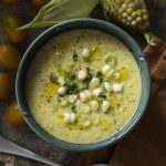 Sweet and Spicy Corn Gazpacho