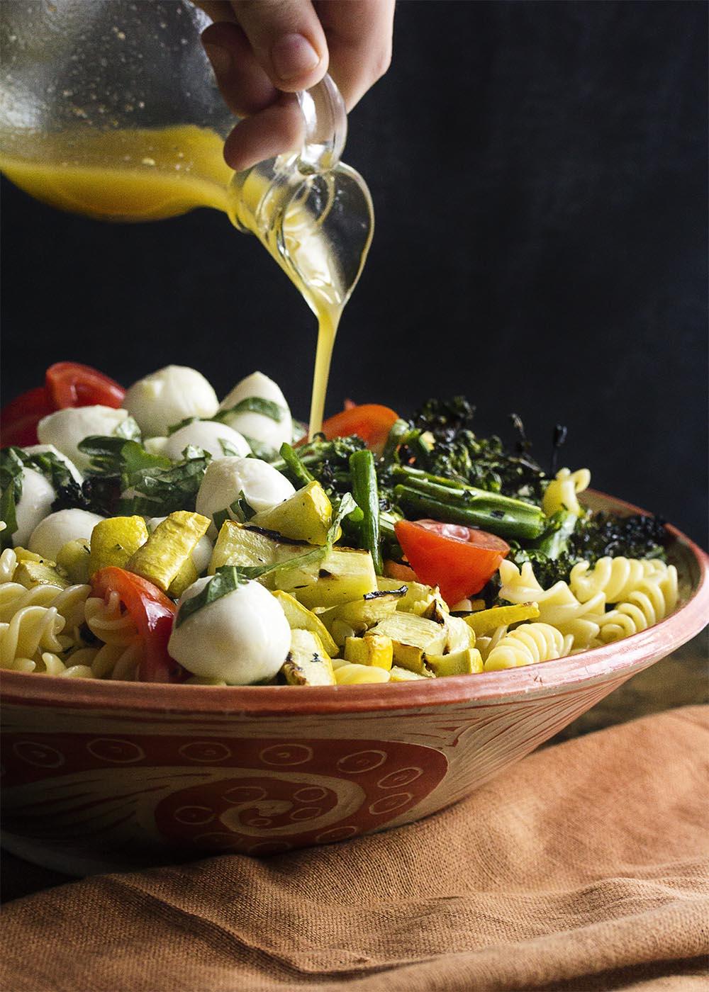 Grilled Italian Pasta Salad