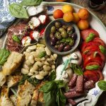 No Cook Cold Antipasto Platter for Summer