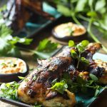 Grilled Greek Yogurt Marinated Chicken Wings