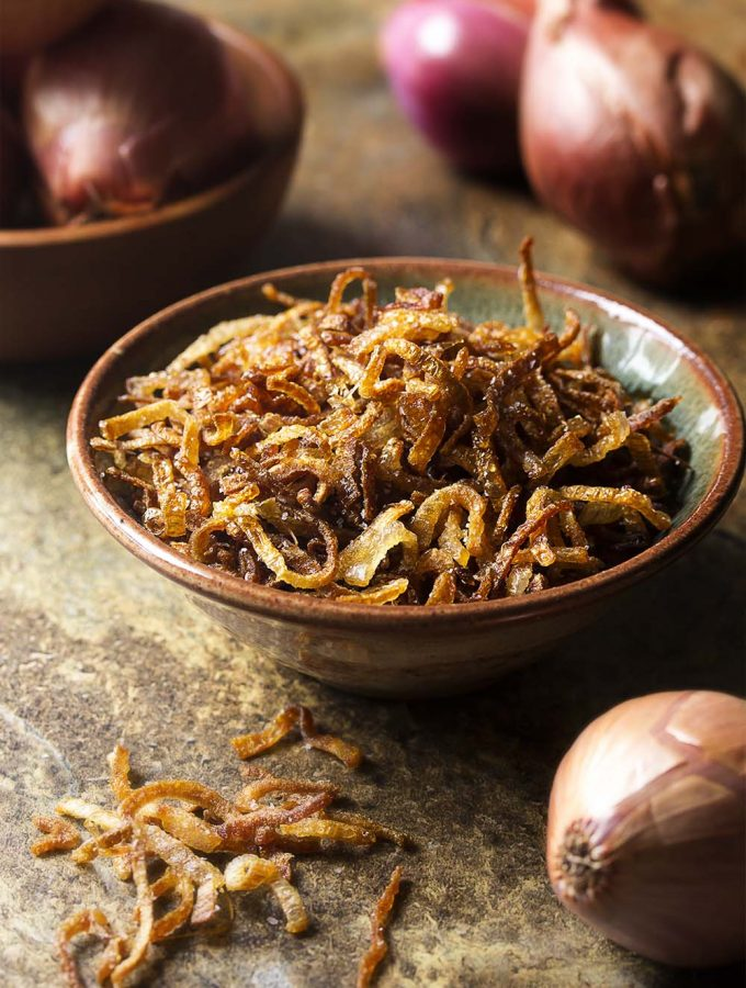 How to Make Crispy Fried Shallots